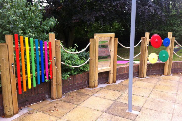 The 25 best sensory garden ideas on pinterest garden for Kindergarten playground design
