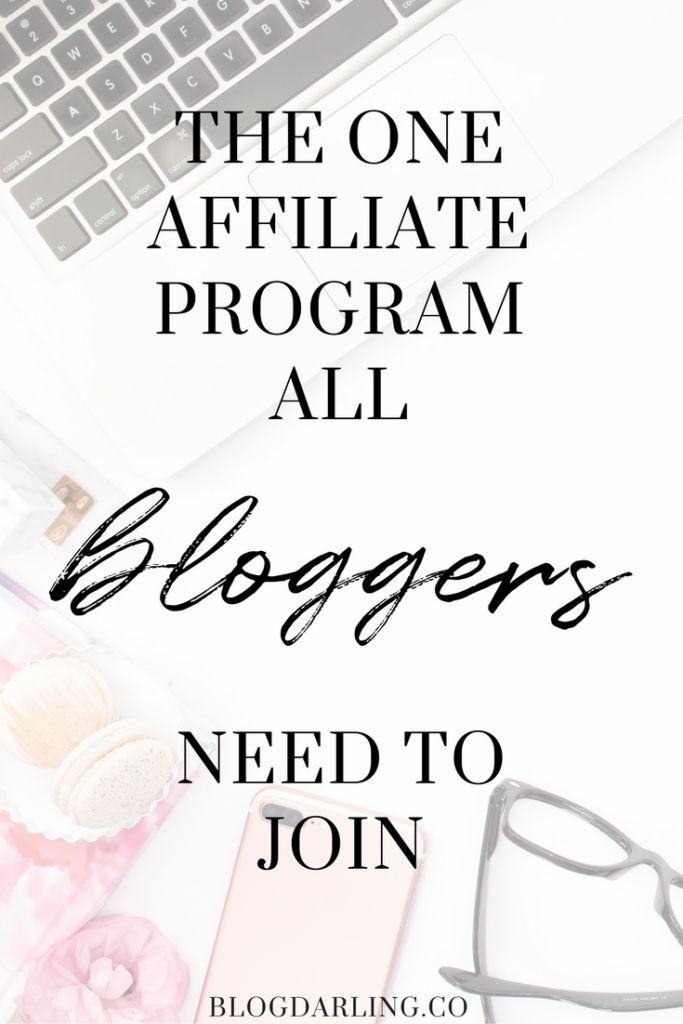 Best Affiliate Program for Bloggers