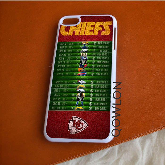 Kansas City Chiefs Schedule iPod Touch 6 | 6TH GEN Case