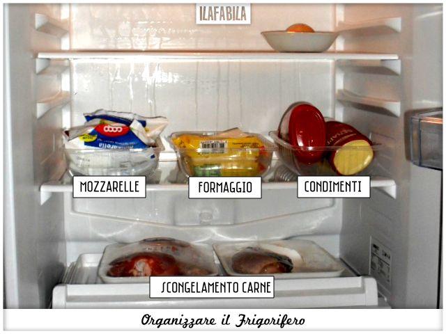 Cucina: Organizzare il Frigorifero Ilafabila