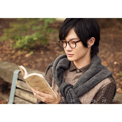 Ryunosuke Kamiki / 2014 Calendar [Loppi HMV Limited Novelty]