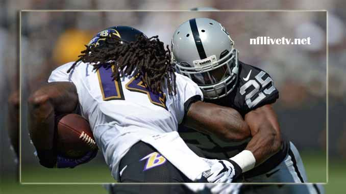 Baltimore Ravens vs Oakland Raiders Live Stream Teams: Ravens vs Raiders Time: 4.05 PM ET Week-5 Date: Sunday on 8 October 2017 Location: Oakland Coliseum, Oakland TV: NAT Baltimore Ravens vs Oakland Raiders Live Stream  The Baltimore Ravens plays the NFL games as a member of the American...