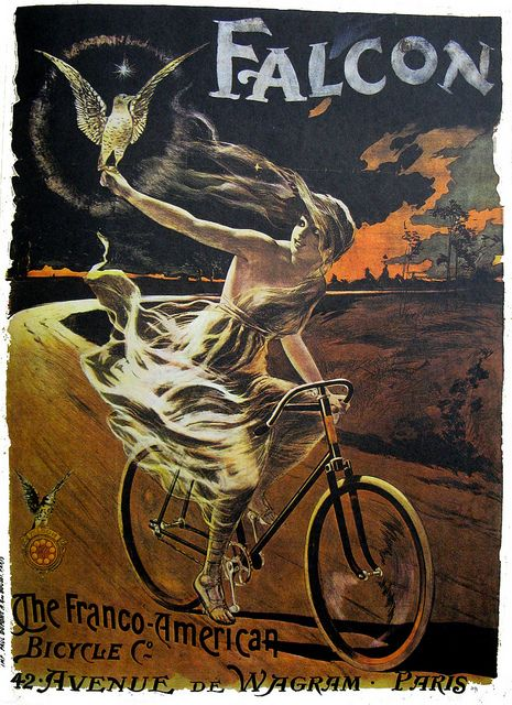 Vintage Bicycle Poster: Falcon