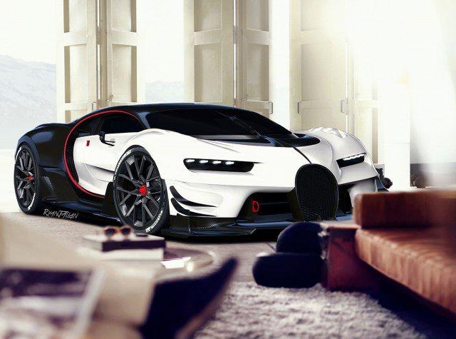 The 2017 Bugatti Chiron