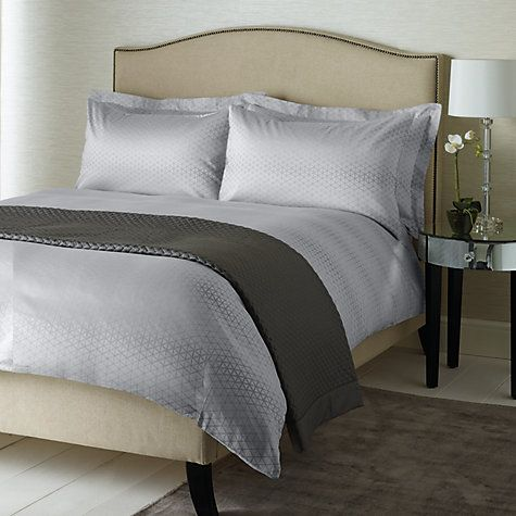 Buy John Lewis Boutique Hotel Geo Jacquard Cotton Bedding Online at johnlewis.com