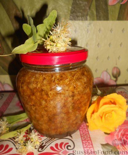 Варенье из цветков липы