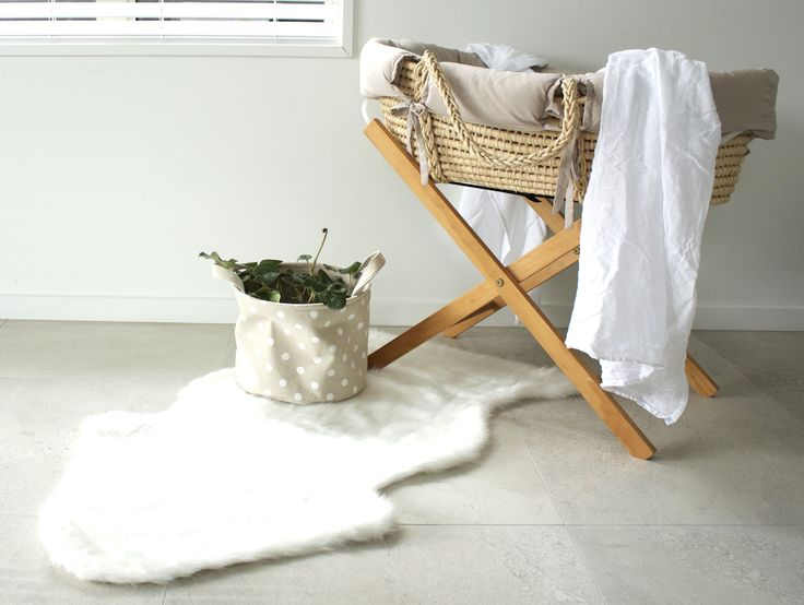 Arctic Faux Fur Rug NZ $55, perfect addition to your little ones room as a play-mat or just to soften the decor!