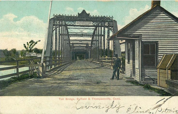 Details about TOLL BRIDGE SUFFIELD & THOMPSONVILLE