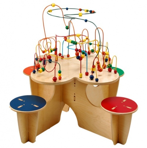 Rollercoaster Table