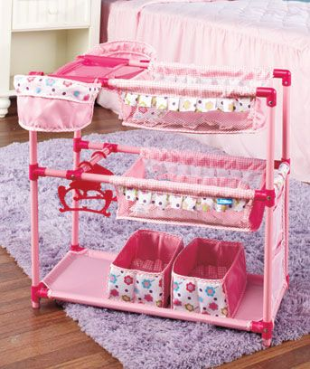 Baby Doll Play Center or Tandem Stroller Holds two baby dolls at a time!!! $28