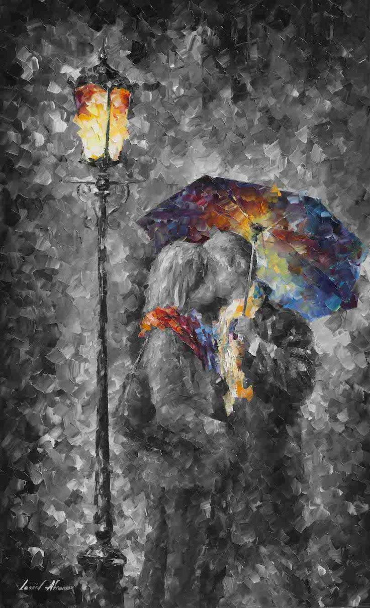KISS IN THE DARK - mixed media limited edition giclee on canvas. Size 40x24. $99 & free shipping https://afremov.com/KISS-IN-THE-DARK-Mixed-media-oil-on-canvas-and-limited-edition-giclee-On-Canvas-By-Leonid-Afremov-Size-40-x24.html?bid=1&partner=20921&utm_medium=/offer&utm_campaign=v-ADD-YOUR&utm_source=s-offer