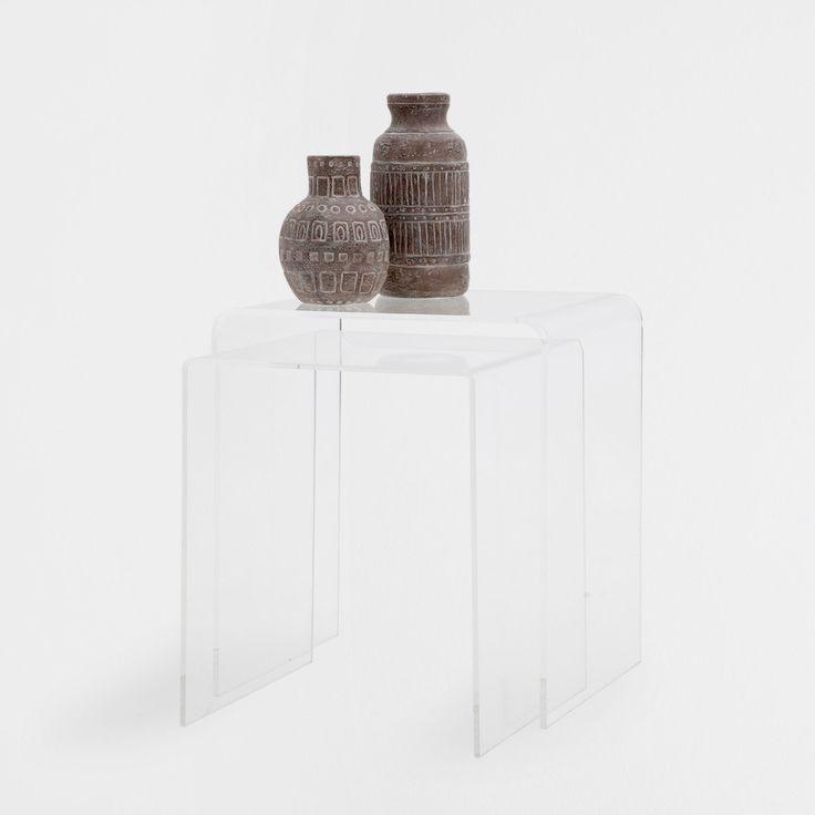 Mesa Metacrilato (Set de 2) - Muebles Auxiliares | Zara Home España