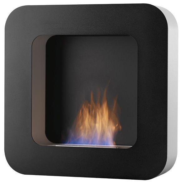 Curva BL Zwart Safretti Fireplace Collection - #Fireplace #InteriorDesign #Fire #Safretti