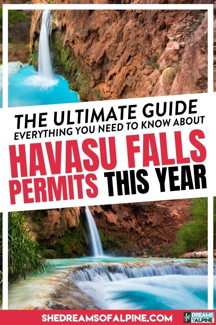 Get Ready 2020 Havasu Falls Permits Everything You Need To Know About The Permit Process To Increas In 2020 Havasu Falls Havasu Falls Permit Havasu Falls Hike