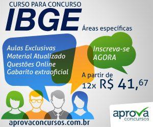 Concurso IBGE 2013 ~ Portal PCD On-Line