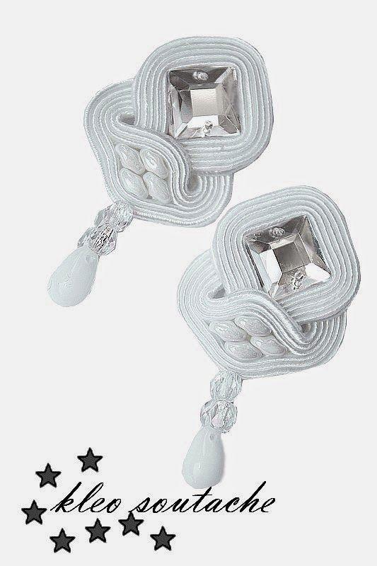 Sutasz Kleo /Soutache jewellery: LATEA, ELERIS,RISTELA,EUFORBIA MINI,KASKADA BIEL,