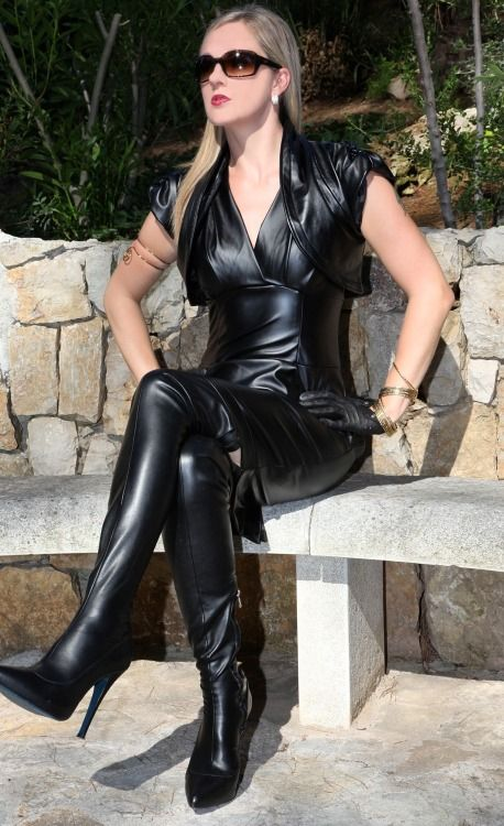 Harmonious can full leather fetish lady pictures sexy woman....LUSH