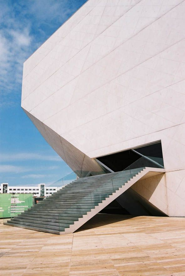Casa da Musica, Porto by Rem Kolhaas (OMA) Architects