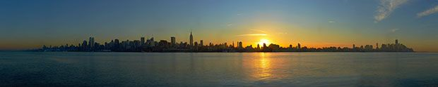 Shooting a Massive Gigapixel Panorama of the Manhattan Skyline