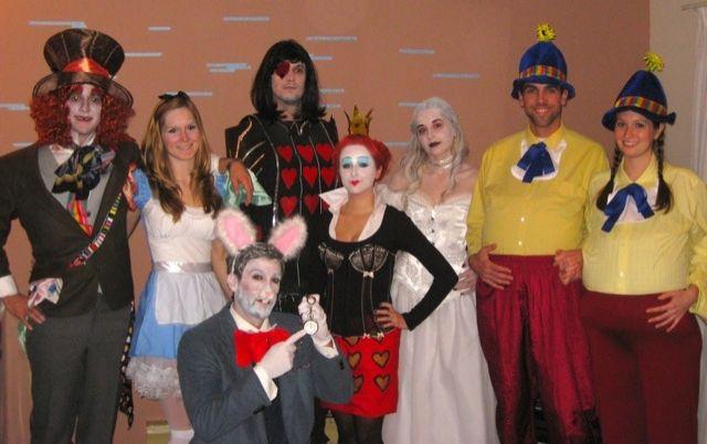 alice in wonderland group costumes   Alice in Wonderland Group Costume - CollegeHumor Picture