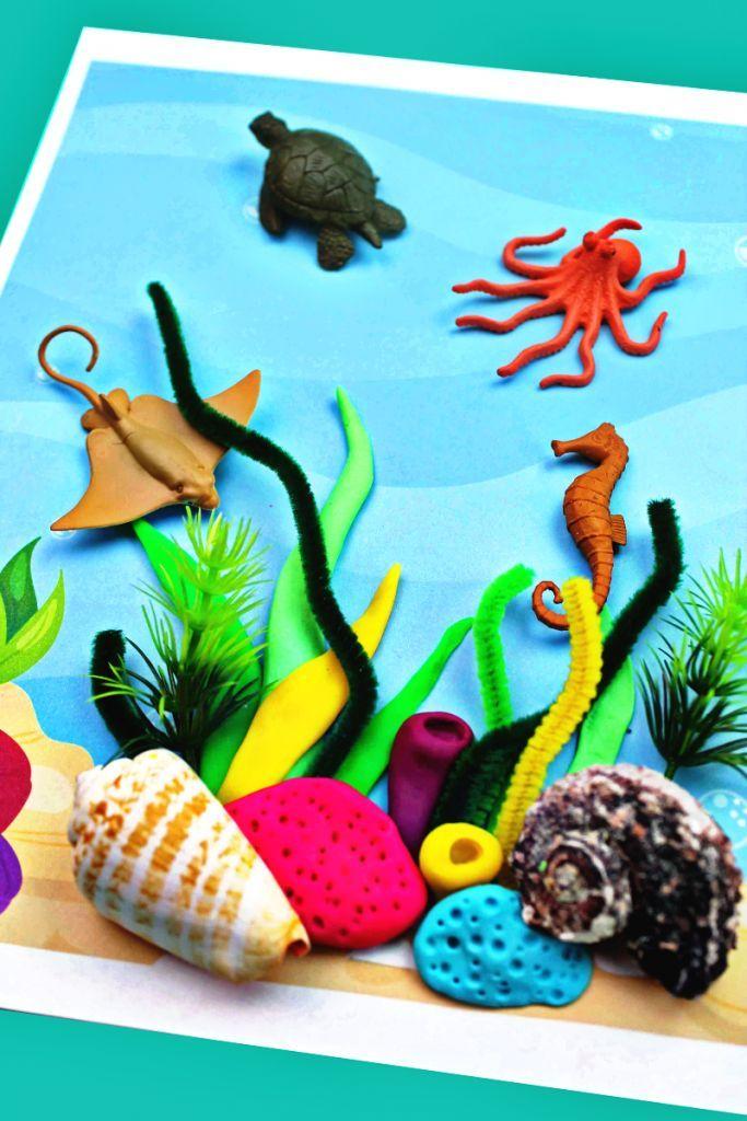 Coral Reef Activities For Preschoolers And Kindergarten With
