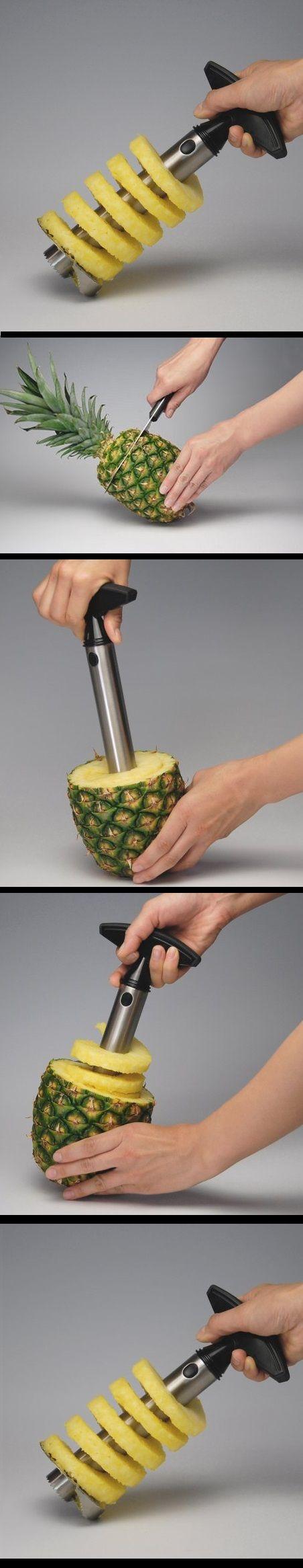 Pineapple Easy Slicer and De-Corer