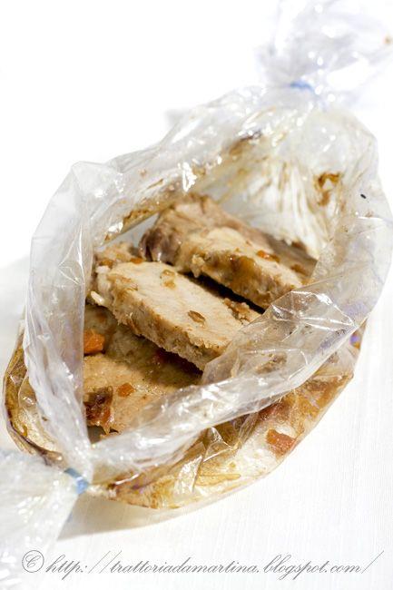 Caramella di maiale arrosto, ovvero arrosto di maiale in carta fata