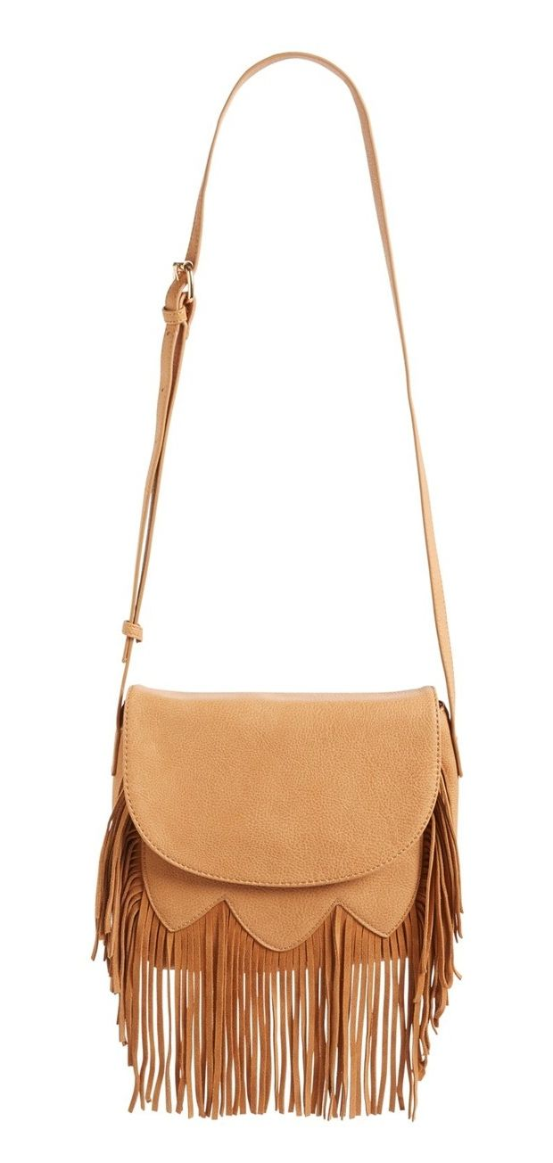 Always get tons of compliments when wearing this flirty fringe bag.