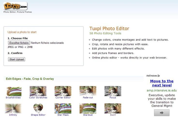 Program do obróbki zdjęć Tuxpi http://www.tuxpi.com/