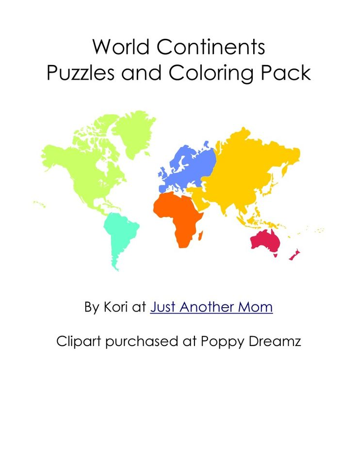108 best homeschool geography images on pinterest school teaching world geography check out this free world continents puzzles and coloring pages pack gumiabroncs Gallery