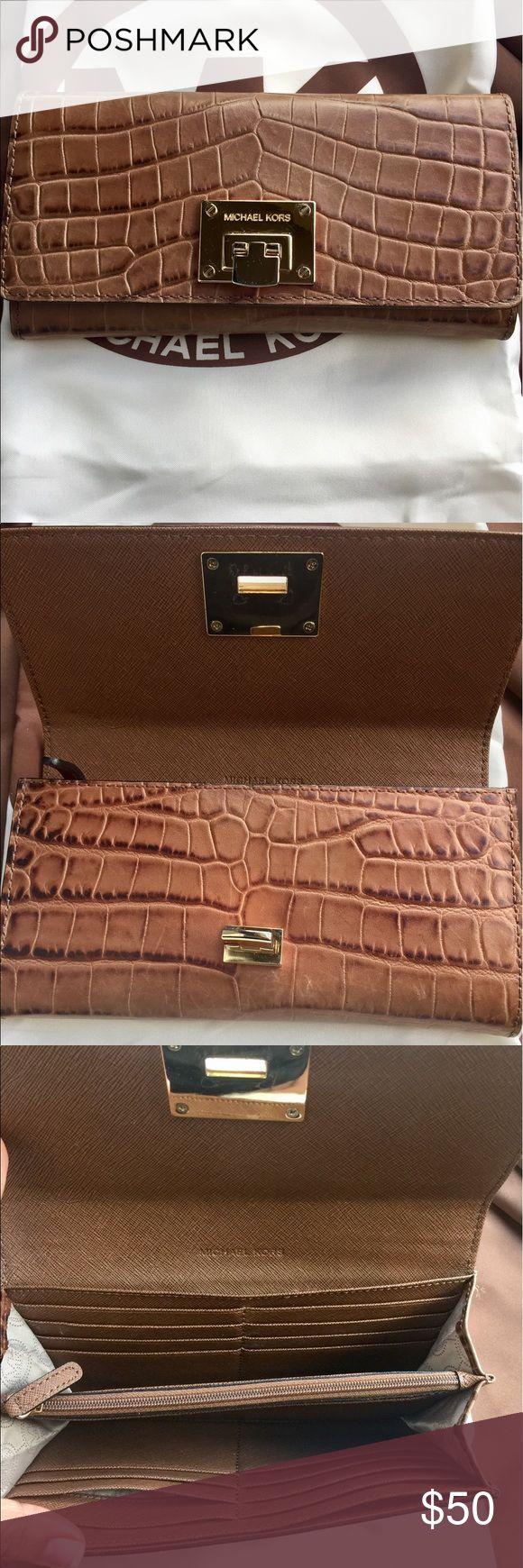 MK Wallet MK Wallet in brown Michael Kors Bags Wallets