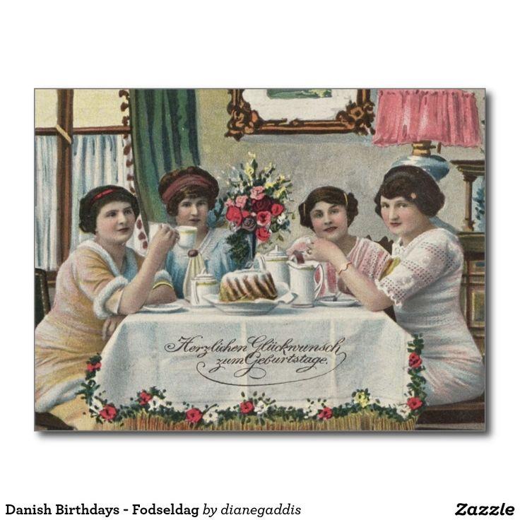Danish Birthdays - Fodseldag