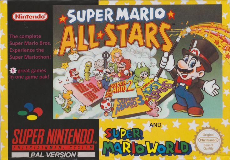 Super Mario All Stars + Super Mario World - Super Nintendo - Acheter vendre sur Référence Gaming