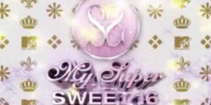 'My Super Sweet 16' Is Returning To MTV