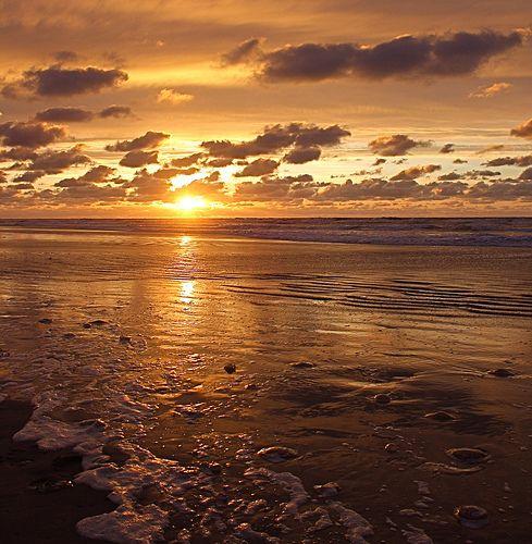 Sunset, Ameland, Netherland