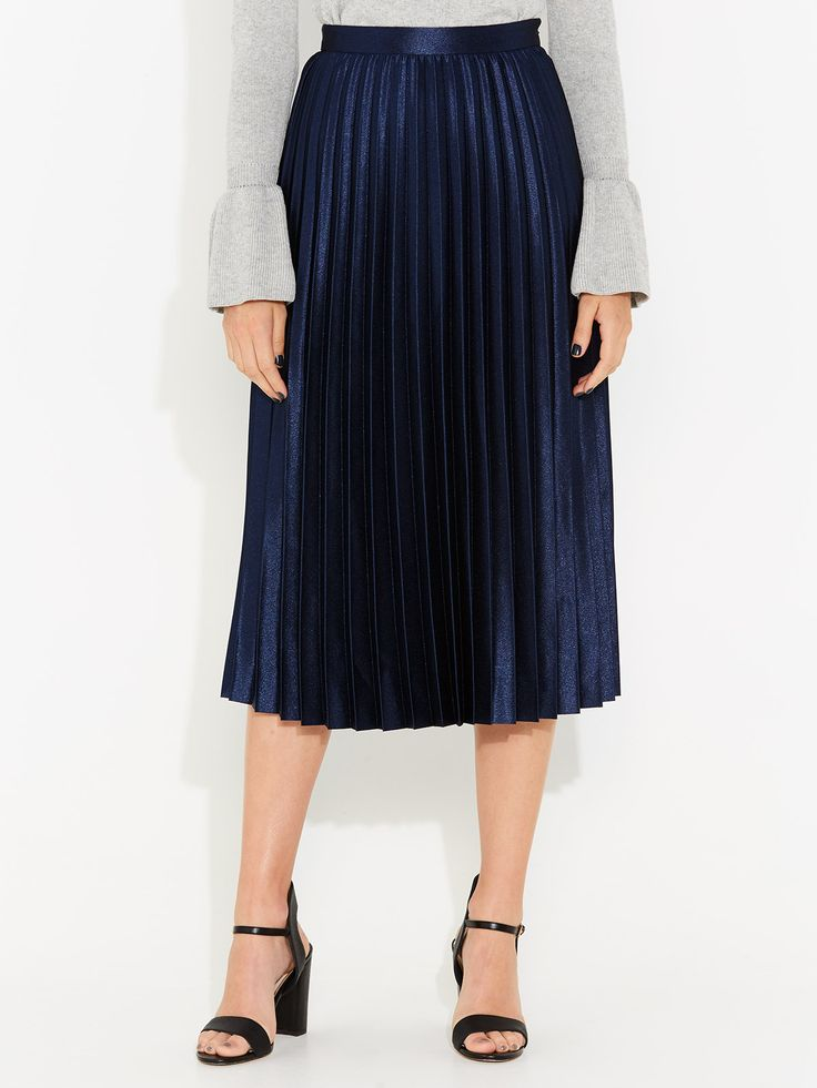 Image for Liquid Pleated Skirt from Portmans