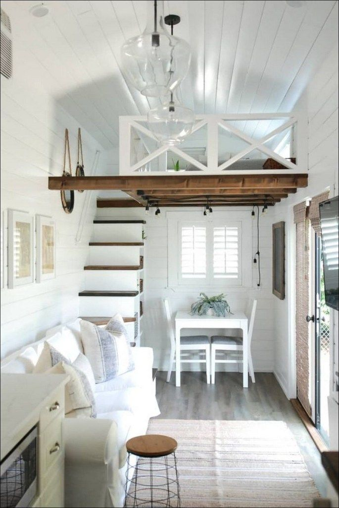 50 Cool Tiny House Design Ideas To Inspire You 28 Tiny House Loft Tiny House Interior Tiny House Interior Design