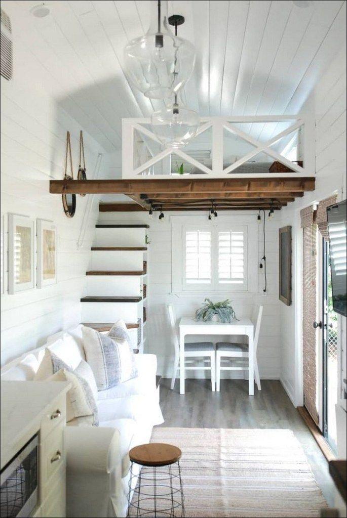 50 Cool Tiny House Design Ideas To Inspire You 28 Tiny House Loft Tiny House Interior Tiny House Interior Design