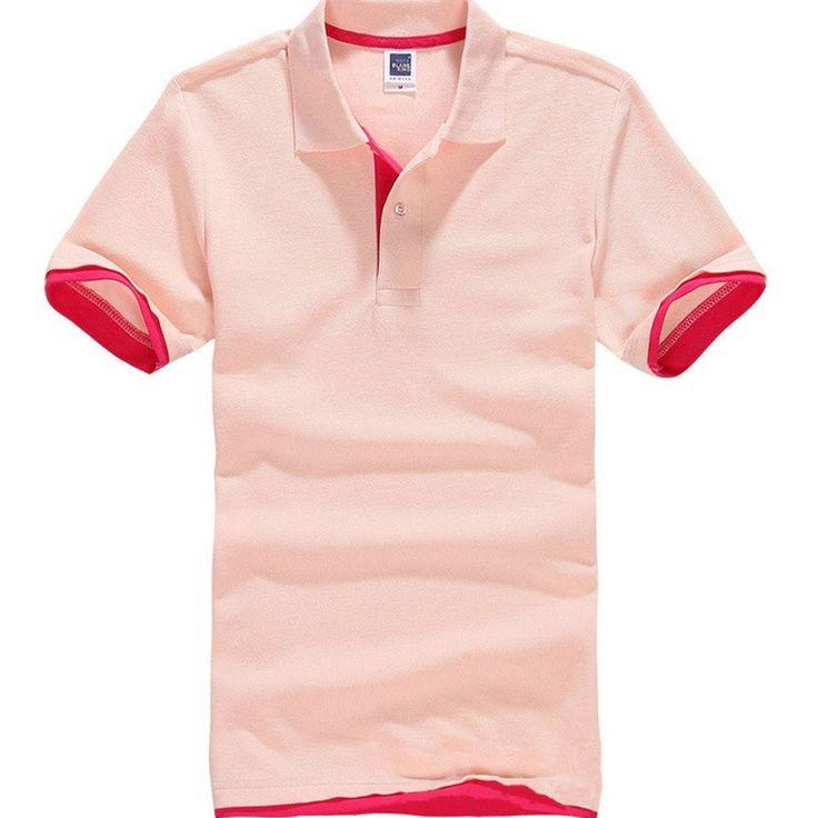 Men's Polo Anti-Wrinkle Short Sleeve Jerseys