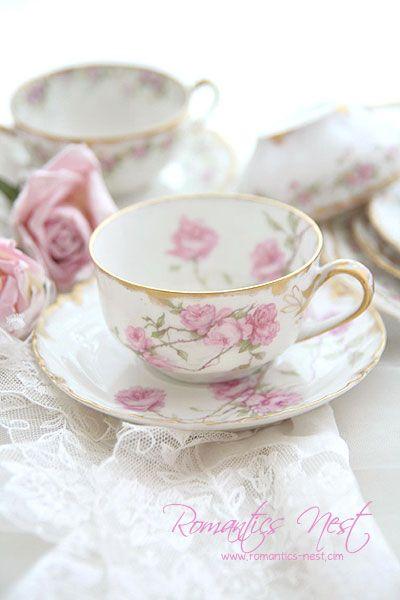 beautiful teacups