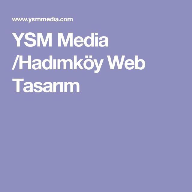 YSM Media /Hadımköy Web Tasarım