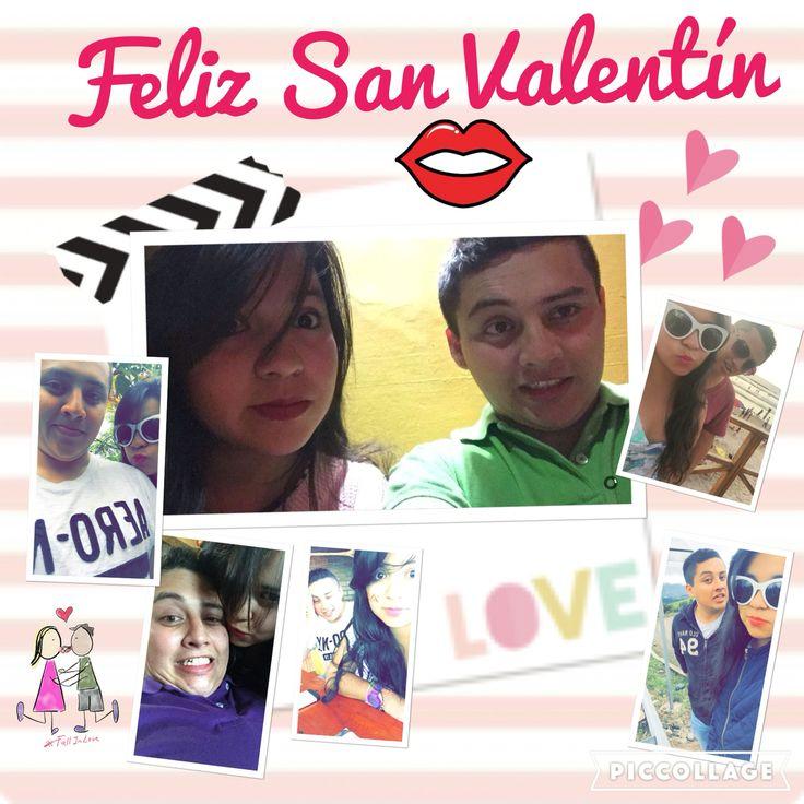 Te amo vida mía... Eres y serás mi Valentin siempre❤️ y a pesar de q allá no se celebre aún... Acá si así q Feliz día de San Valentín  MIO ☺️