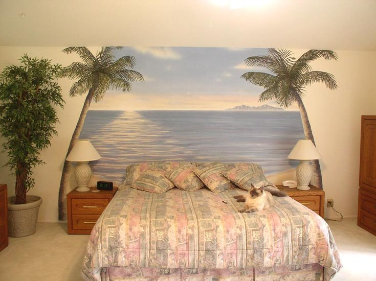 hmmm tropical bedroom theme