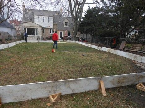 Outdoor Hockey Rink Boards   Google Search