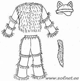 Карнавальный костюм волка сшить