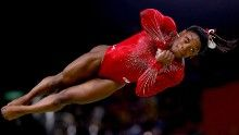 Simone Biles amazes teammates  vaults to gold..3 gold medals down..two to go