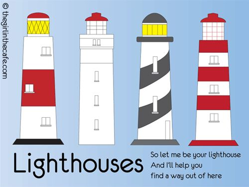 A lighthouse may possibly be an awesome tattoo...