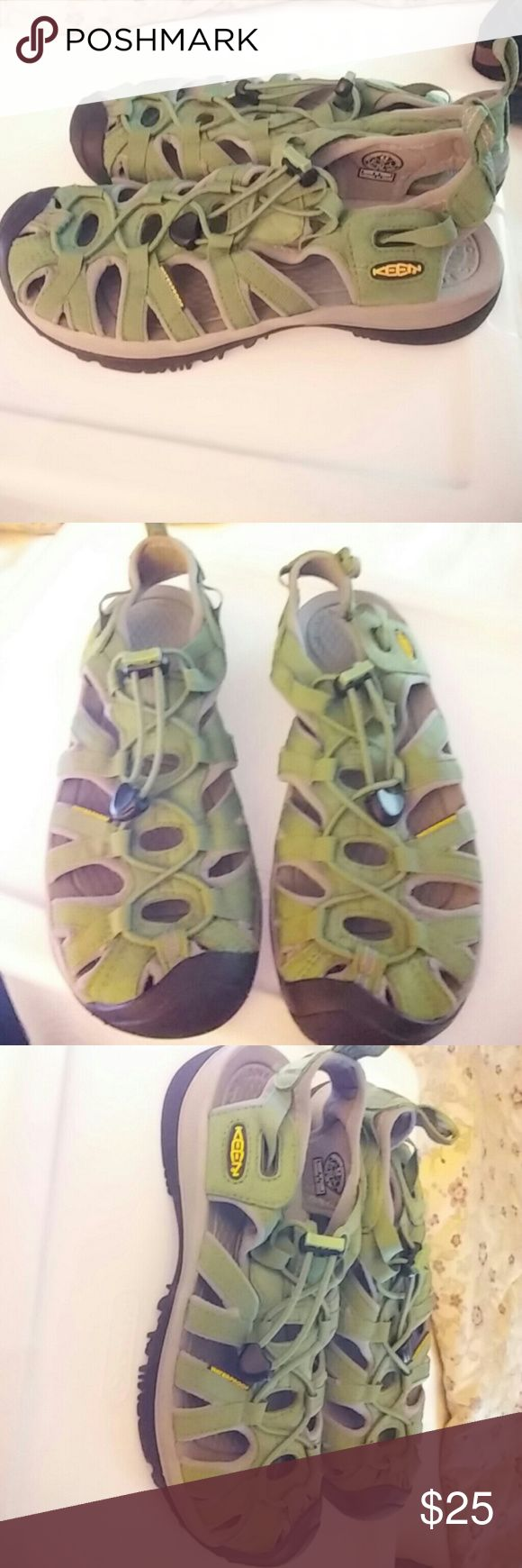 Sandals or shoes for hiking - Womens Sz6 Waterproof Keen Hiking Trail Sandle Preowned In Great Condtion Keen Hiking Trail Shoes