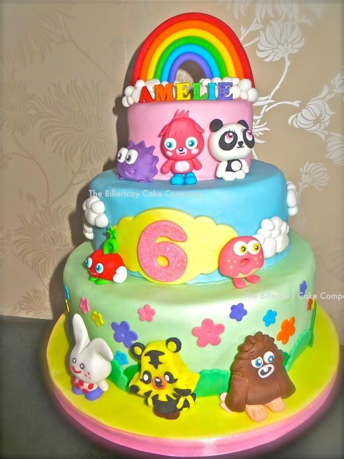 Moshi Monsters Cake