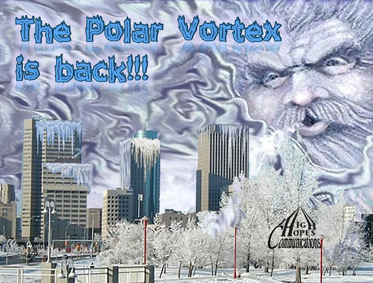 The Polar Vortex is Back! www.highhopescommunications.ca